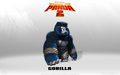 Gorilla Wallpaper - kung-fu-panda wallpaper