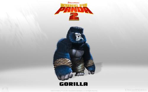 Gorilla fond d'écran