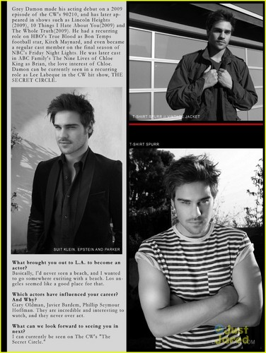 Grey Damon: Bello Mag Boy