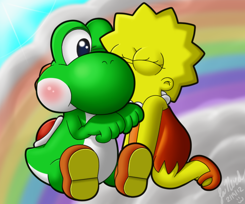 Yoshi images Heaven wallpaper and background photos