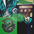 House of: Cunningness, Determination and Traditionalism - slytherin fan art