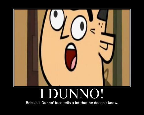 I Dunno...