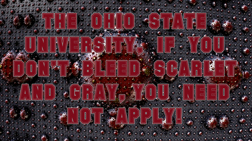 IF آپ DON'T BLEED SCARLET AND GRAY