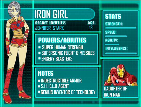 Iron girl info Young Justice Photo 29295530 FanpopYoung Justice Season 3 Character Bios