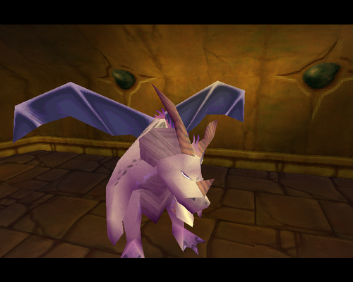 Spyro The Dragon achtergrond with a parasol titled Ivor