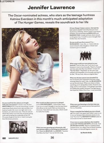 Jen discusses Muzik with SPIN magazine