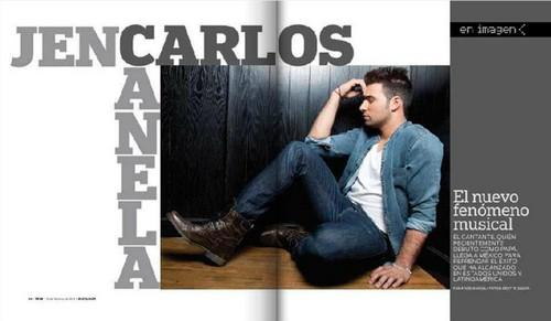 """Jencarlos en Revista """"Teve"""" (Mexico)"""
