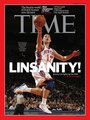 Jeremy Lin on Time Magazine Cover
