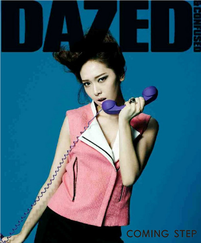 Jessica @ Dazed Korea March Issue