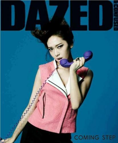 Jessica @ Dazed Magazine Korea March Issue Cover