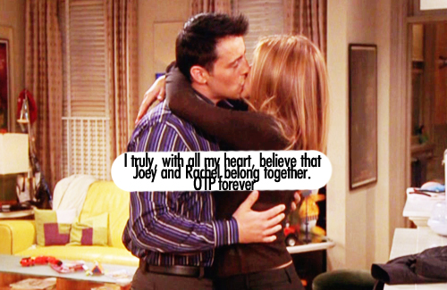 Joey and rachel start dating