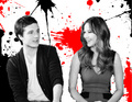 Josh and Jennifer - jennifer-lawrence-and-josh-hutcherson fan art