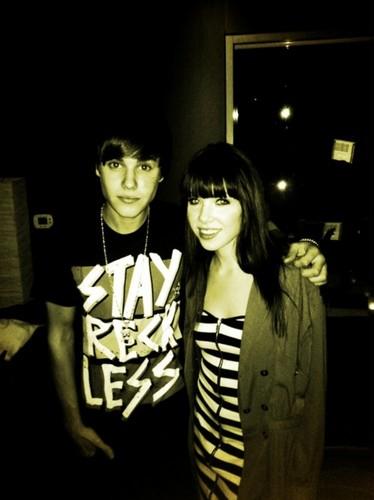 Justin & Carly Rae Jepsen