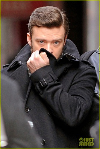 "Justin Timberlake heading to the set of ""Inside Llewyn Davis"" - justin-timberlake Photo"