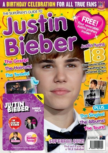 Justin's Birthday Magazine