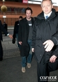 Keanu Reeves arrives at Budapest Airport.( February 15, 2012) - keanu-reeves photo