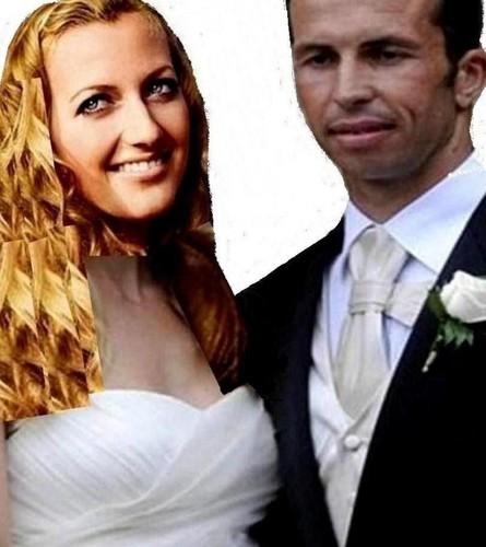 Kvitova and Stepanek wedding funny montage