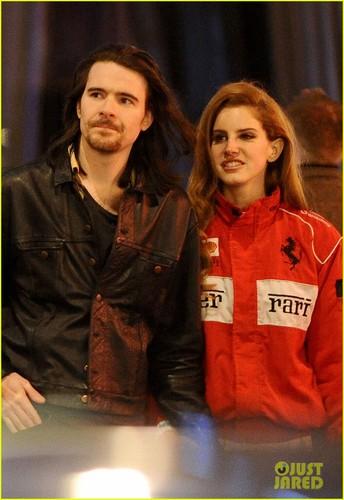 Lana Del Rey Explores london with Barrie James O'Neill