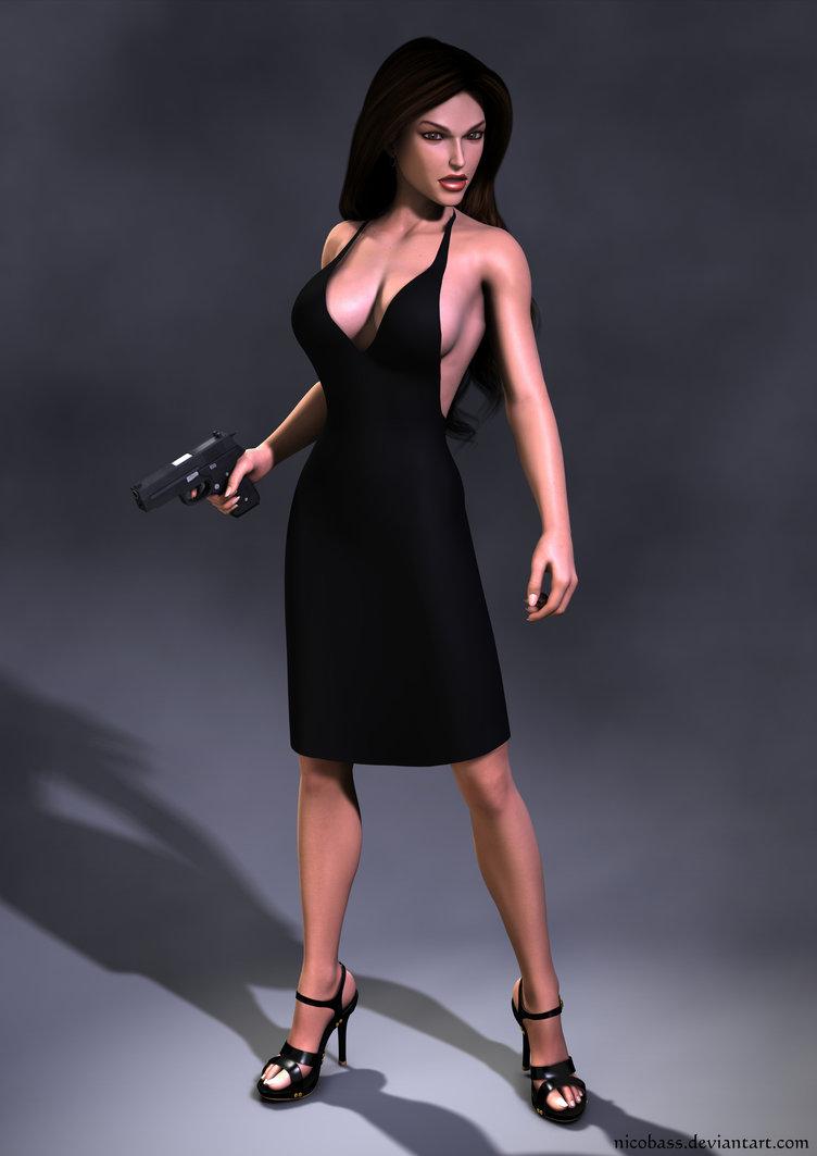 Lara Croft- Hapon Dress