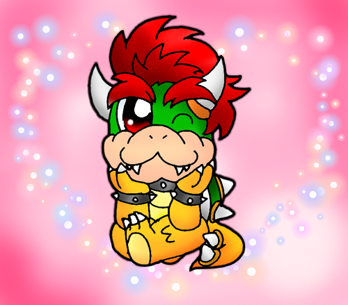Little Bowser - nintendo-villains Fan Art