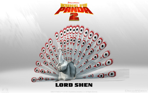 Lord Shen 壁纸