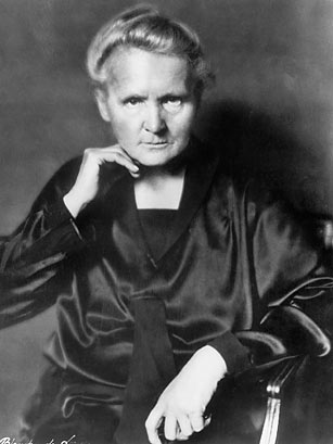 Women in History wallpaper entitled Marie Curie