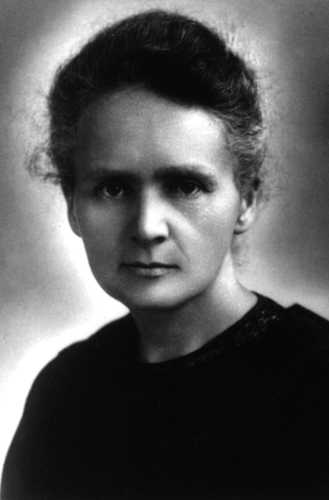 Women in History wallpaper probably with a jersey and a portrait entitled Marie Curie