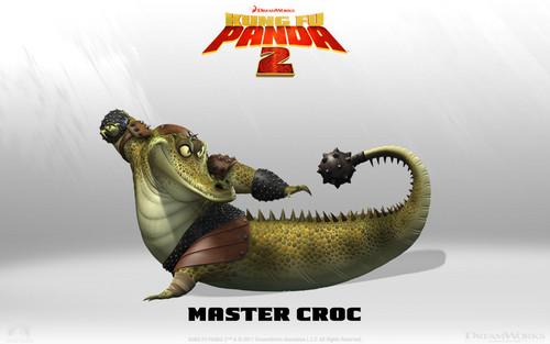 Master Croc kertas dinding