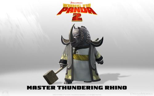 Master Rhino 壁纸