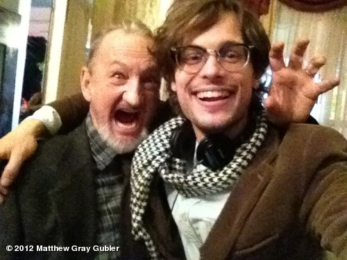 Matthew Gray Gubler wallpaper titled Matthew Gray Gubler and Robert Englund