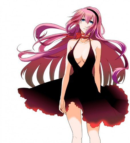 Megurine Luka wallpaper possibly with a bouquet called Megurine