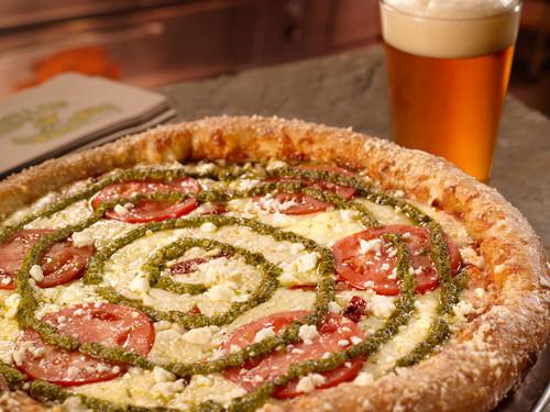 Mellow paddestoel pizza