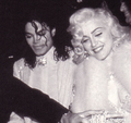 Michael and Madonna ♪ - michael-jackson photo