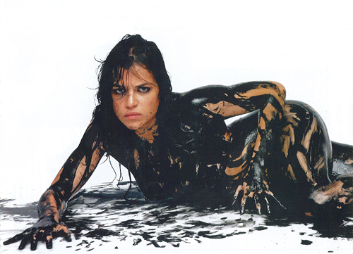 Мишель Родригес Обои entitled Michelle Rodriguez - 'The Big Fix' Photoshoot
