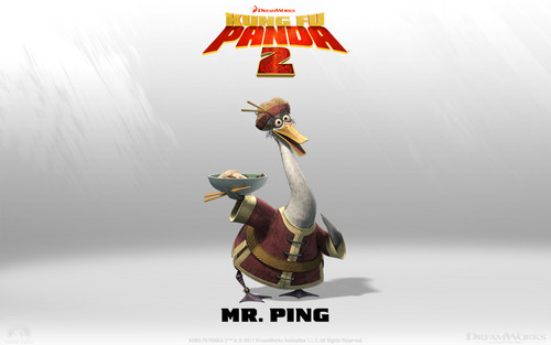 Mr. Ping wallpaper