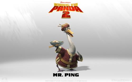 Mr. Ping Wallpaper