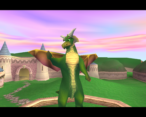 Spyro The Dragon پیپر وال titled Nestor