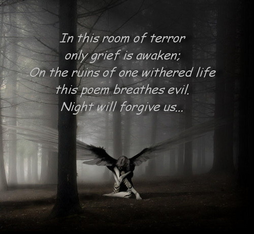 Night will forgive us