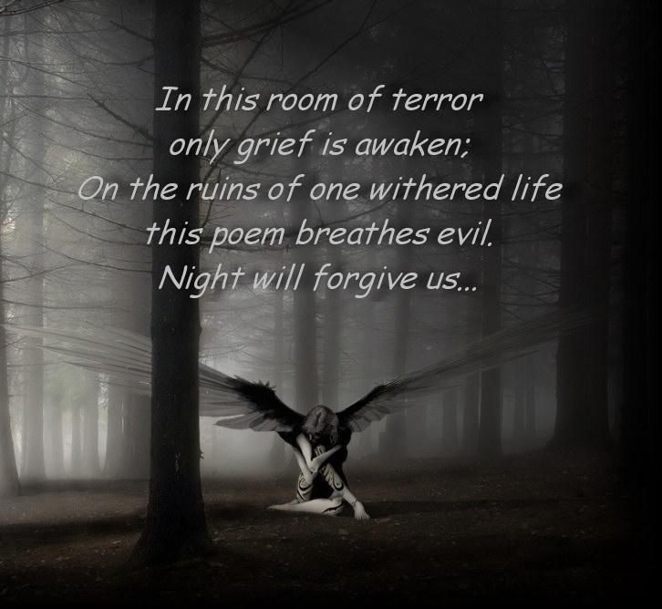 Night will forgive us