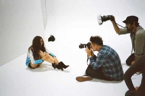 Nina Dorev-Studio-shoot