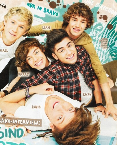 One Direction Bravo magazine photoshoot