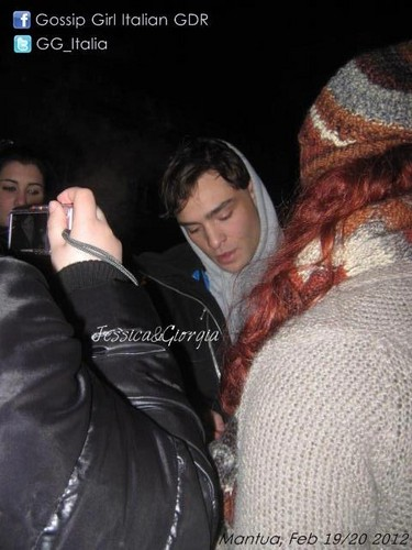 Out and about in Mantova, Italy - February 21, 2012