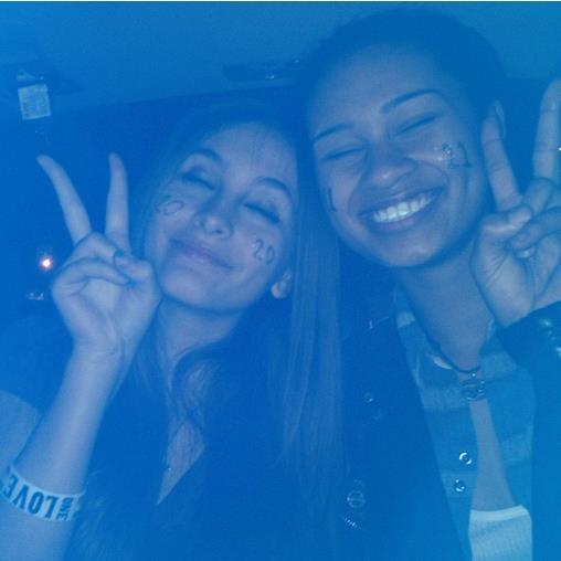 Paris and Michaela :)