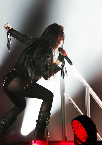 Performing at Manchester Apollo [22 February 2012]