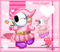 Pink Shy Girl - nintendo-villains fan art