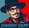 Pop art Johnny Depp
