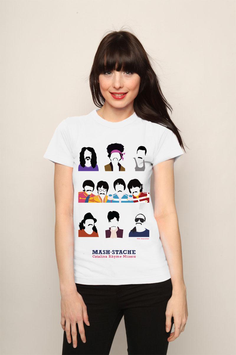 Prince moustache t-shirt