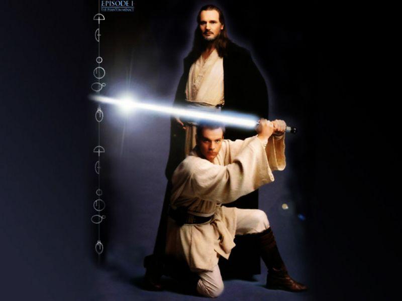 Qui Gon Jinn And Obi Wan Kenobi Qui Gon Jinn And Obi Wan Kenobi Wallpaper 29273062 Fanpop