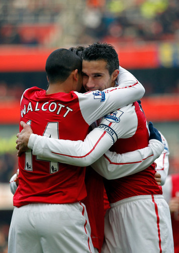 R. mobil van, van Persie (Arsenal - Blackburn)