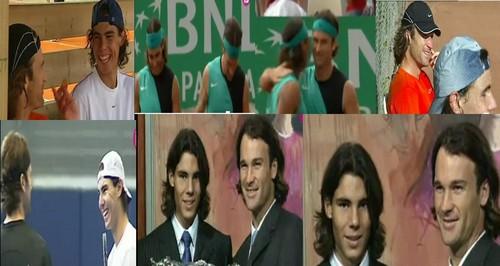 Rafa and Carlos twins look..
